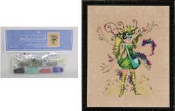 N Corbett Mirabilia Cross Stitch PATTERN & EMBELLISHMENTS Be