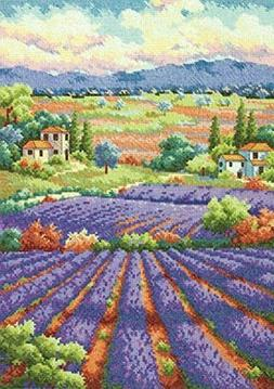 Dimensions Needlecrafts Counted Cross Stitch, Fields of Lave