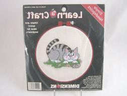 Dimensions Needlecrafts Needlepoint A Cat And A Mouse #72318