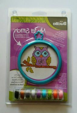 New Bucilla My 1st Stitch Kit - Owl - Counted Cross Stitch K