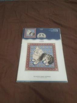 New Sealed Kitten DMC Creative World Counted Cross Stitch Ki