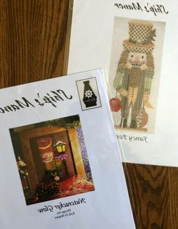 NUTCRACKERS Counted Cross Stitch Charts Lot Of 2 By SHIP'S