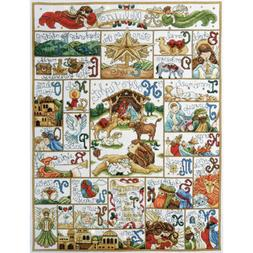 Oh Holy Night Counted Cross Stitch Kit-16X21 14 Count