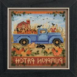 Old Time Harvest Beaded Counted Cross Stitch Kit Mill Hill 2