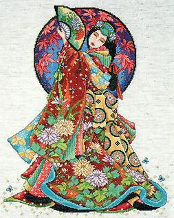 Oriental Wisdom Cross Stitch Kit