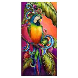 Alloet Parrot 5D Diamond Embroidery Painting Cross Stitch DI