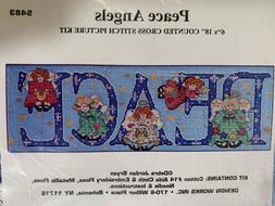 """Peace Angels"" A Beautiful 6x18 Cross Stitch Kit From De"
