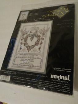 Janlynn Platinum Collection Cross Stitch Kit  Wedding Doves