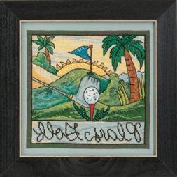 Play Golf Sticks Cross Stitch Kit