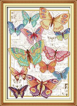 Full Range of Embroidery Starter Kits Cross Stitch Kits Begi