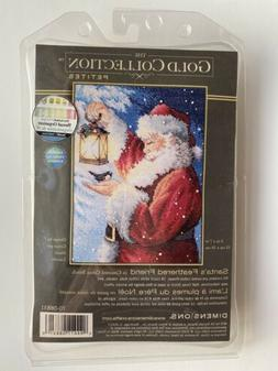 Santa's Feathered Friend Dimensions Gold Collection Petites