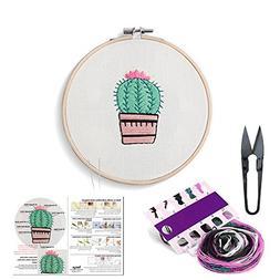 set handmade embroidery starter kit