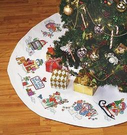 Snow Much Fun Tree Skirt - Big Stitch - Cross Stitch Kit