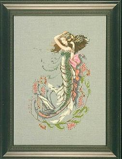 South Seas Mermaid - Cross Stitch Pattern