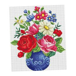 Stamped Cross Stitch Kit 11CT Pre-Printed Cloth Embroidery K