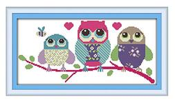 eGoodn Stamped Cross Stitch Kits With Printed Pattern - Cart