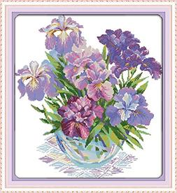 Joy Sunday Stamped Cross Stitch Kits - Counted Cross Stitch