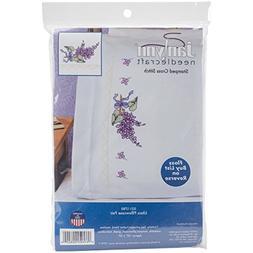 "Stamped Cross Stitch Pillowcase Pair, 20"" x 30"