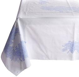 Bucilla Stamped Cross Stitch Tablecloth, 52 by 70-Inch, 8636