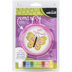 My 1St Stitch Find Your Wings Mini Counted Cross Stitch Kit-