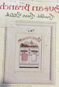 BUCILLA SUSAN BRANCH CROSS-STITCH KIT *HOME COOKING*  OLD-FA
