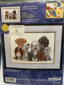 Suzy's Zoo Dogs Of Duckport Mini Counted Cross Stitch Kit-7X