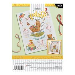 Bucilla Sweet Baby Birth Record Kit