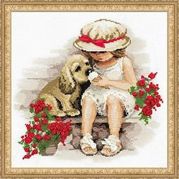 Sweet Tooth Counted Cross Stitch Kit-11.75X11.75 14 Count