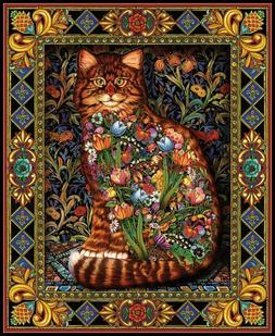 Tapestry Cat - Chart Counted Cross Stitch Patterns Needlewor