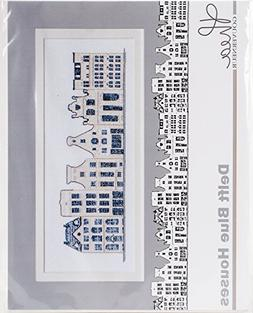 TG552A Delft Blue Houses On Aida Counted Cross Stitch Kit-10