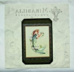 """MIrabilia """"The Queen Mermaid"""" Counted Cross Stitch Pattern"""