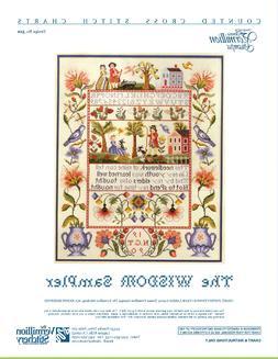 The Wisdom Sampler Vermillion Stitchery Cross Stitch Pattern