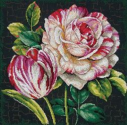 Dimensions Crafts 70-35314 Tulip Drama Counted Cross Stitch