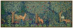 William Morris's Forest Animals Panel Runner Counted Cross S
