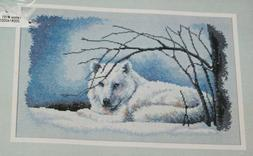 Dimensions Wolf In Snow 35123 Lucie Biodeau Counted Cross St