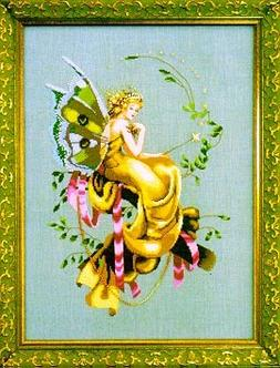 Woodland Fairie, The - Cross Stitch Pattern